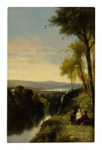 JAMES MACDOUGAL HART | CONVERSATIONS BY THE RIVER