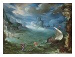 PAUL BRIL  |  COASTAL LANDSCAPE WITH THE CALLING OF SAINT PETER