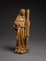 WORKSHOP OF ADRIAEN VAN WESEL (CIRCA 1415- CIRCA 1490), NETHERLANDISH, UTRECHT, CIRCA 1480 | ANGEL WITH THE COLUMN