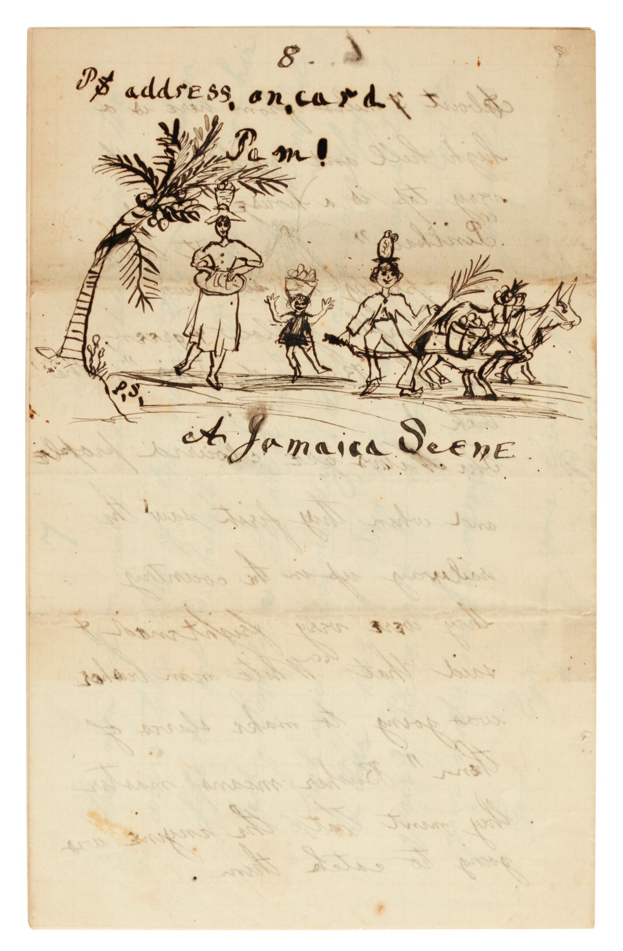 View 1 of Lot 98. PAMELA SMITH   15 autograph letters signed, with related manuscripts, 1891-1900.