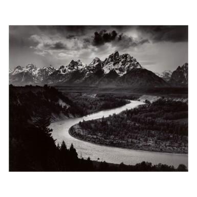 ANSEL ADAMS | 'THE GRAND TETONS AND THE SNAKE RIVER, GRAND TETON NATIONAL PARK, WYOMING'