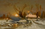 YULI YULIEVICH KLEVER AND STUDIO | Winter Landscape