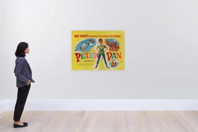PETER PAN (1953) POSTER, BRITISH