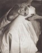 HORST P. HORST   'CARMEN FACE MASSAGE', NEW YORK, 1946