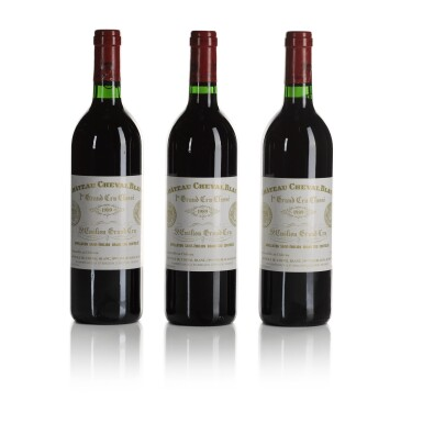 View 2. Thumbnail of Lot 276. Château Cheval Blanc 1989  (12 BT).