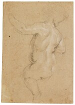 Study of a putto, seen from behind