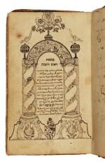 BABYLONIAN TALMUD, TRACTATE ROSH HA-SHANAH, WRITTEN ON BEHALF OF RABBI JOSEPH OPPENHEIM, SCRIBE: DAVID TEVELE BEN JOSEPH, [HOLEŠOV, MORAVIA]: 1712
