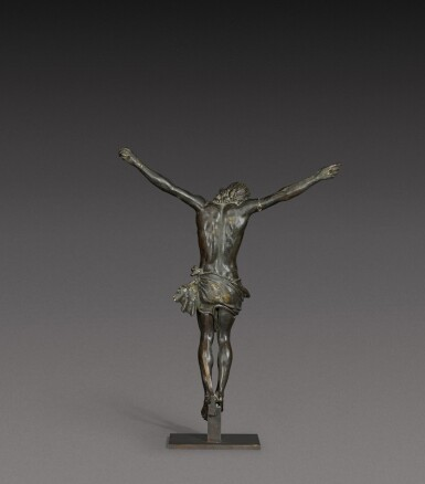 View 2. Thumbnail of Lot 160. French, 17th century   Crucifix.