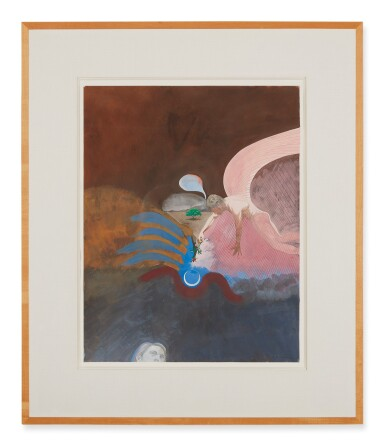 View 2. Thumbnail of Lot 415. PAUL WONNER | ILLUSTRATIONS FOR POEMS OF ST. JOHN OF THE CROSS: ON THE IMMACULATE CONCEPTION .