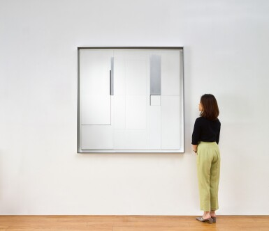 View 3. Thumbnail of Lot 1048. Richard Lin 林壽宇 | Painting Relief 20.5.1963 繪畫浮雕 20.5.1963.