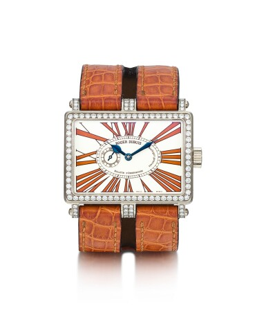 ROGER DUBUIS | TOO MUCH, A LIMITED EDITION WHITE GOLD AND DIAMOND-SET WRISTWATCH, CIRCA 2008