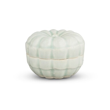 View 3. Thumbnail of Lot 191. A 'Qingbai' melon-form box and cover, Southern Song dynasty | 南宋 青白釉瓜棱式蓋盒.