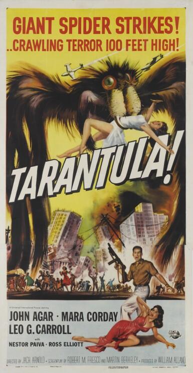 Tarantula (1955) poster, US