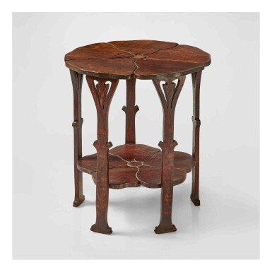 "View 1. Thumbnail of Lot 324. A Rare ""Poppy"" Table, Model No. 26."
