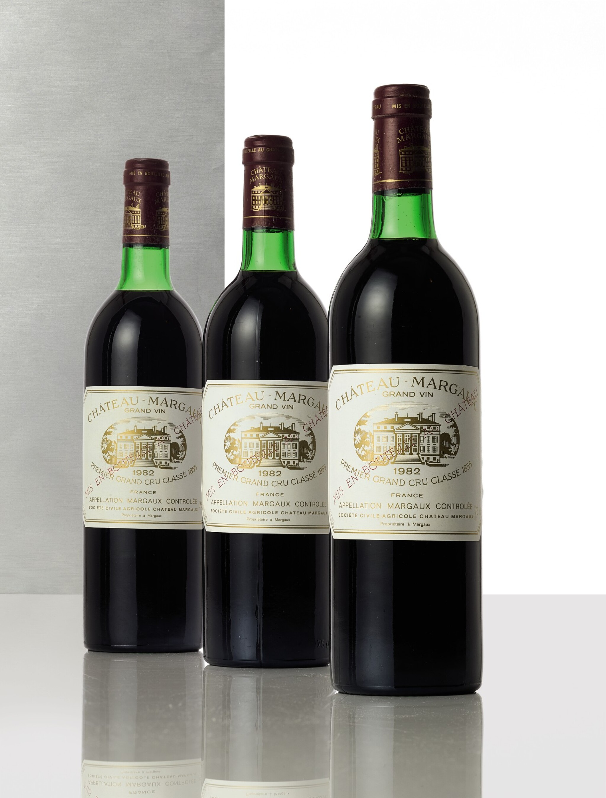 View full screen - View 1 of Lot 3406. Château Margaux 1982  (12 BT).