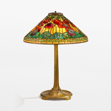 """View 1. Thumbnail of Lot 1. """"Poppy"""" Table Lamp."""