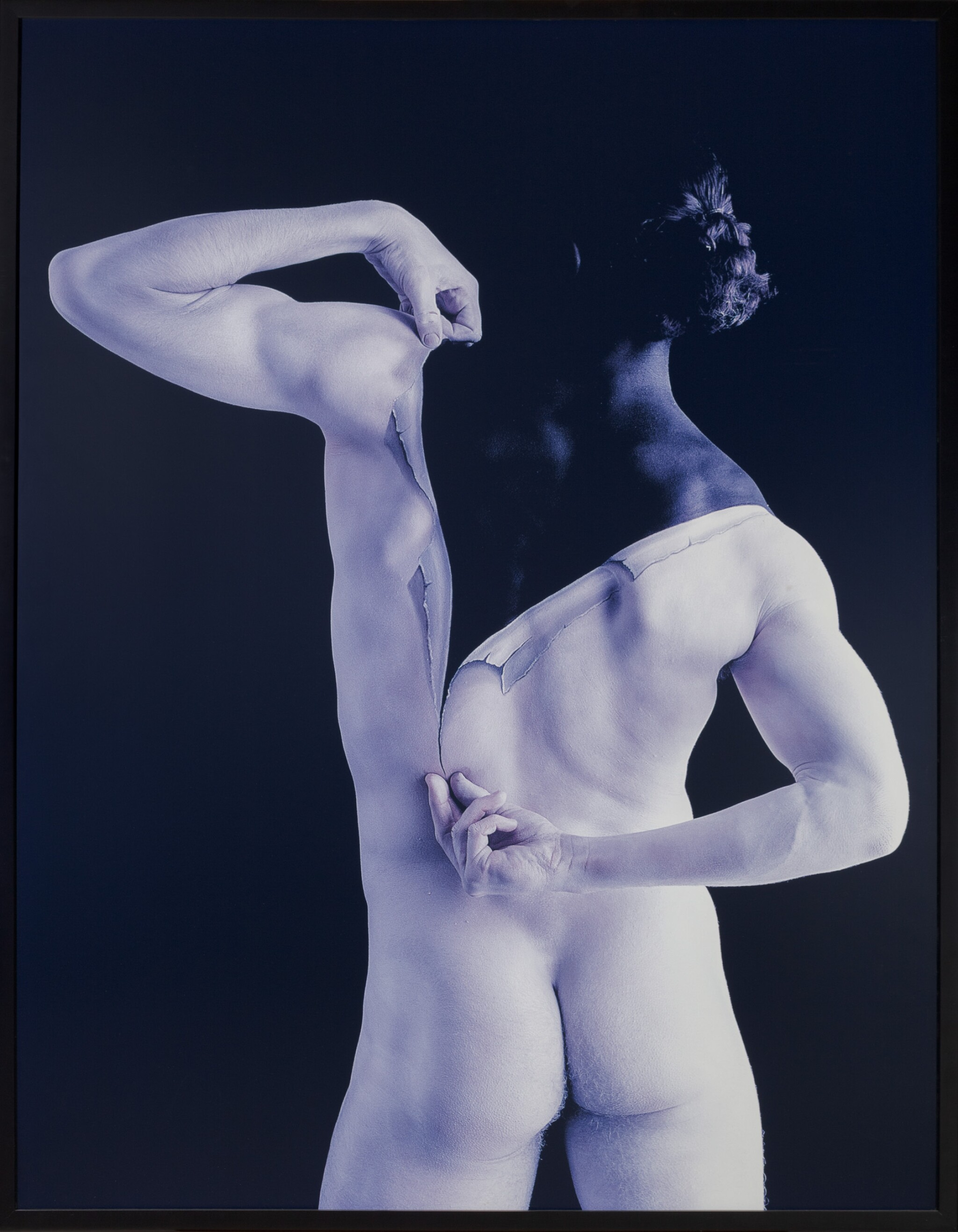 View full screen - View 1 of Lot 82. Veronica Rubio (Spain) #55, Cuerpos Pintados – Painted Bodies .
