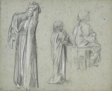 View 1. Thumbnail of Lot 16. Studies for The Light of the Harem.