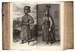 Bruyn, de. Reizen ... Asia. 1698 [and] Reizen over Moskovie, door Persie en Indie. 1714, two works in vellum bindings