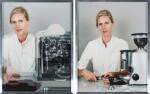 ELAD LASSRY | WOMAN, ESPRESSO MACHINE; WOMAN, ESPRESSO GRINDER (TWO WORKS)