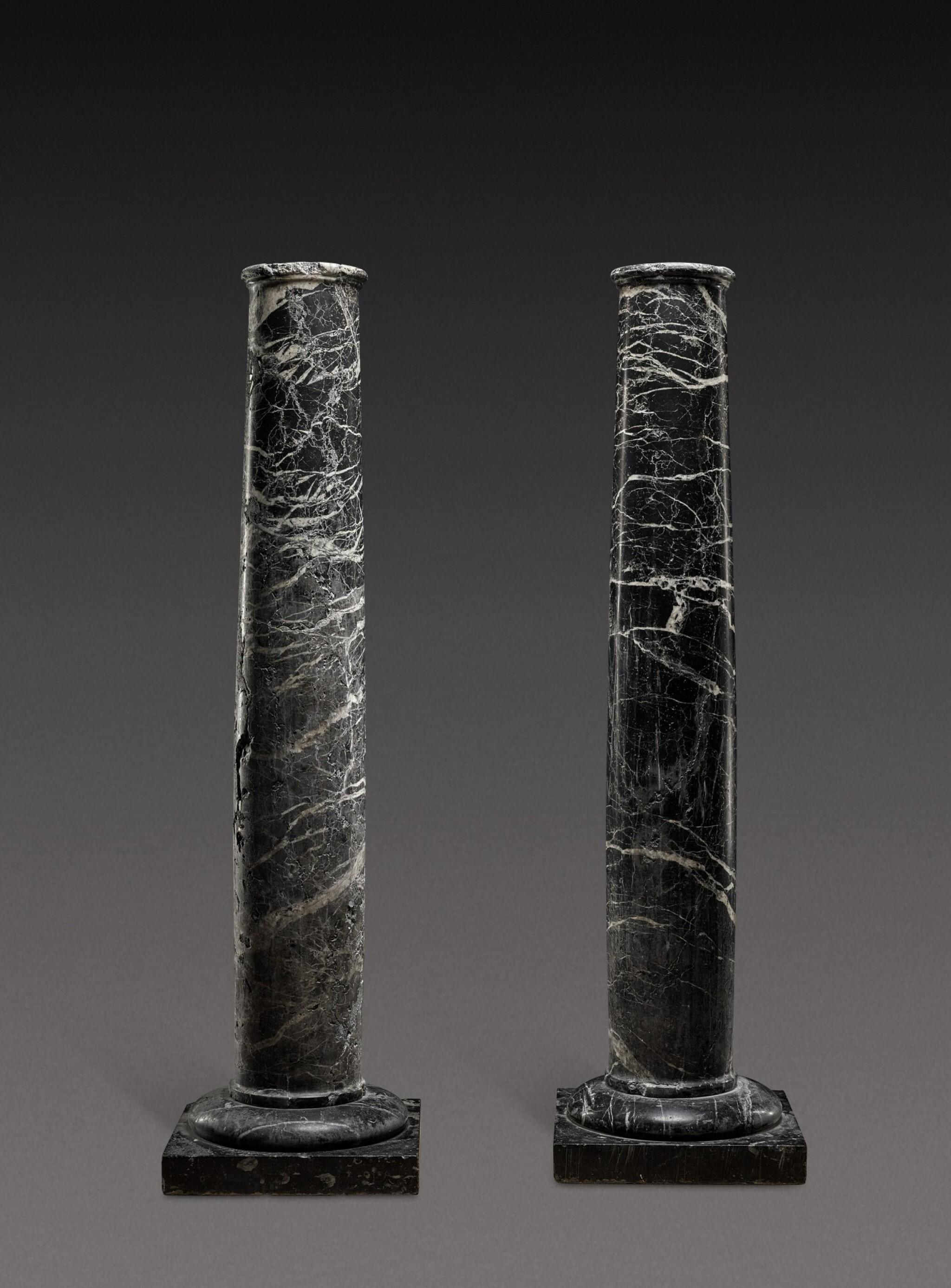 View 1 of Lot 155. Italian, 19th century | Pair of Columns.