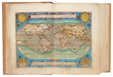 View 1. Thumbnail of Lot 50. Abraham Ortelius | Theatrum orbis terrarum, 1595.