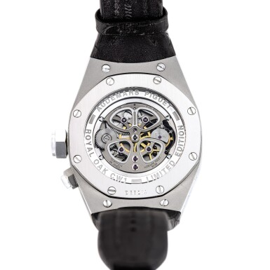 View 3. Thumbnail of Lot 2241. Audemars Piguet | Royal Oak Concept, Reference 25980AI.OO.D003SU.01, A limited edition alacrite semi-skeletonised tourbillon wristwatch with dynamographe and power reserve indication, Circa 2005 | 愛彼 | 皇家橡樹概念系列 型號25980AI.OO.D003SU.01  限量版 alacrite 合金半鏤空陀飛輪腕錶,備扭矩力及動力儲備顯示,約2005年製.