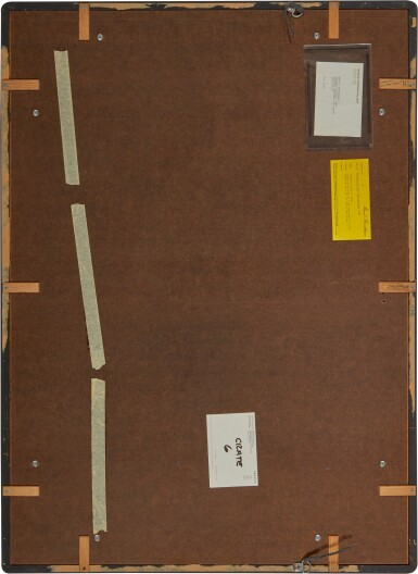 View 3. Thumbnail of Lot 255. MARCEL BROODTHAERS | PEINTURE A L'OEUF.