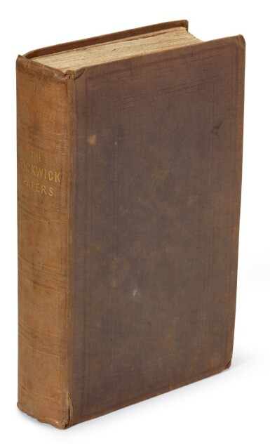 Dickens, The Posthumous Papers of the Pickwick Club, 1837, first edition in book form