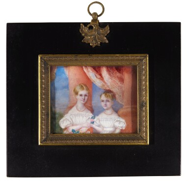 View 3. Thumbnail of Lot 267. Jane Austen's great nieces and nephews; the children of Sir Edward Knatchbull, 9th Bt (1781-1849) and his second wife Fanny, née Knight, formerly Austen (1793-1882).