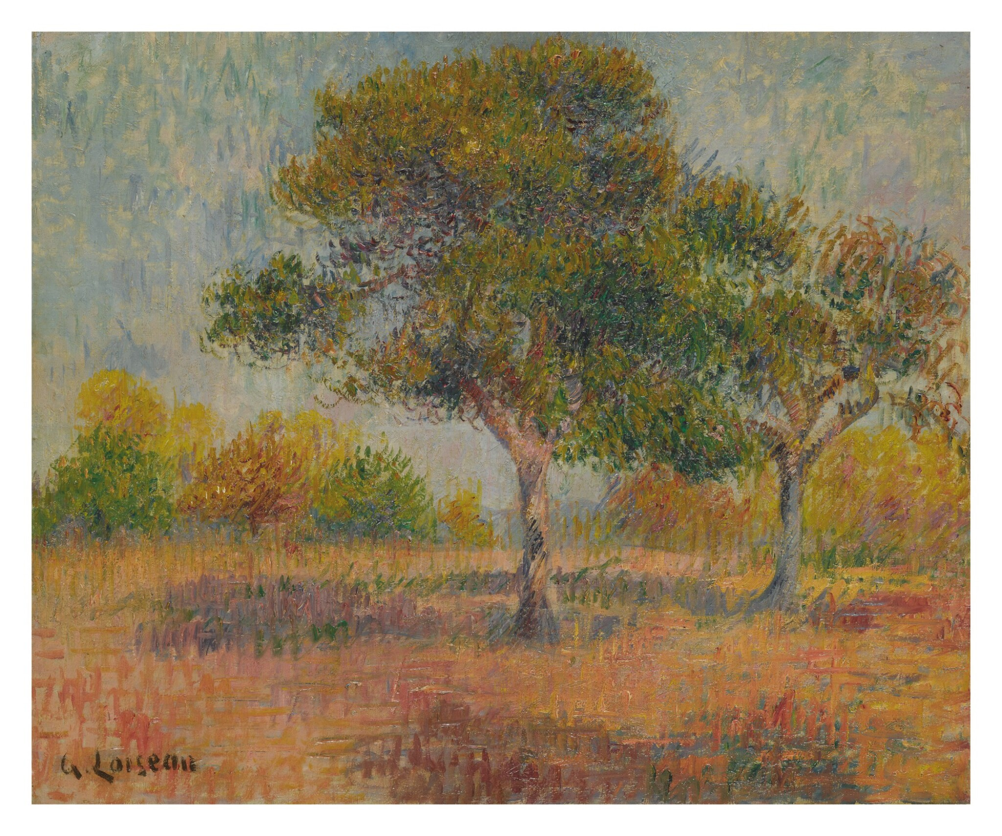 View full screen - View 1 of Lot 5. GUSTAVE LOISEAU | PAYSAGE.