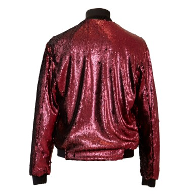 View 4. Thumbnail of Lot 9. Mick Jagger's 'No Filter' European Tour Red Sequin Jacket, 2017.