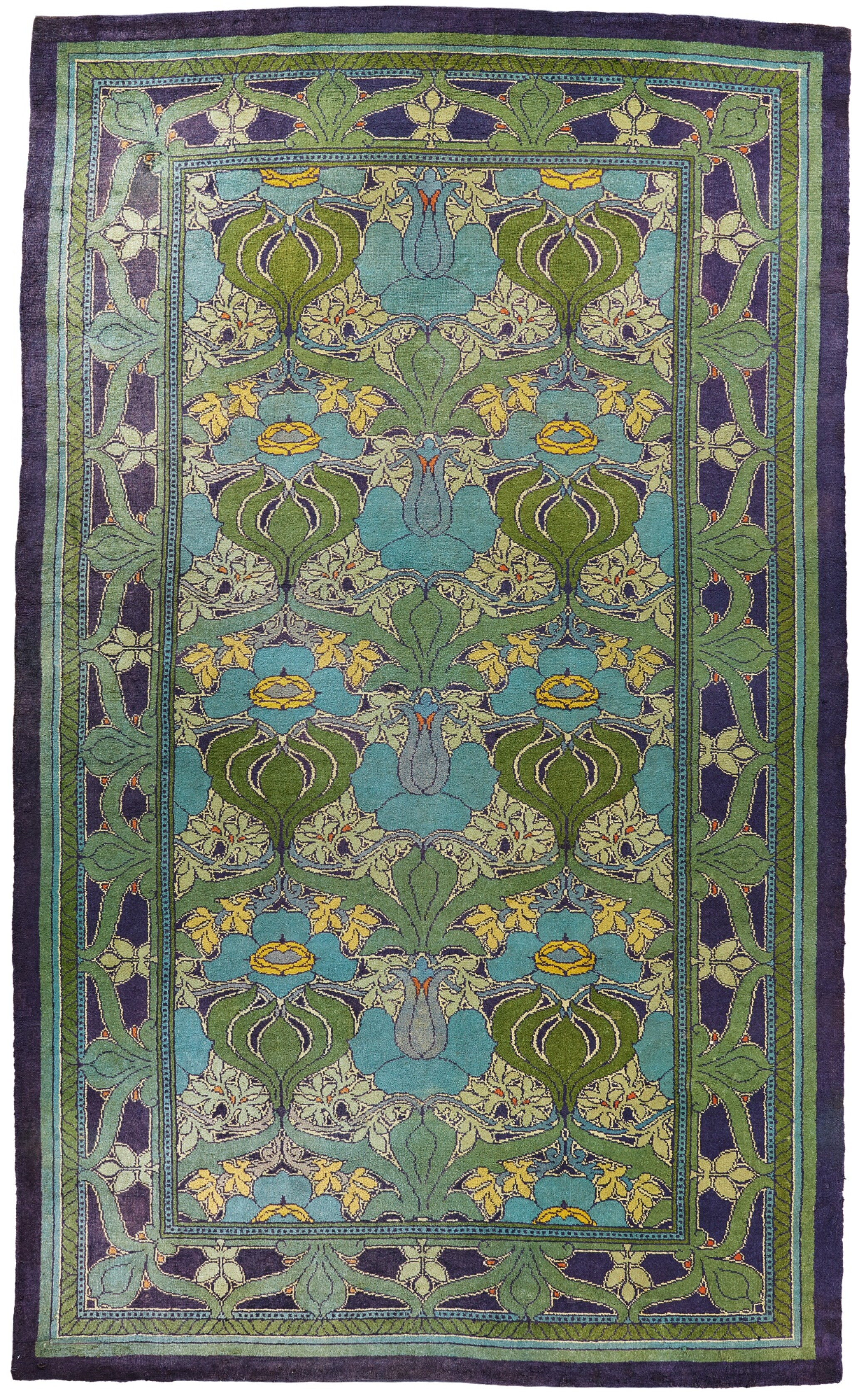 View 1 of Lot 92. C.F.A VOYSEY (1857-1941), THE 'DONNEMARA' PILE CARPET, MORTON & CO., WOVEN KILLYBEGS, DONEGAL, IRELAND .