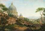 WILLIAM MARLOW | Rome, a view of Saint Peter's Basilica