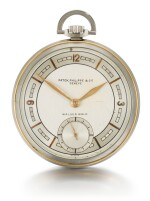 PATEK PHILIPPE & CIE., GENÈVE [百達翡麗,日內瓦] |  RETAILED BY WALSER WALD, BUENOS AIRES: A FINE STEEL AND PINK GOLD OPEN-FACED KEYLESS LEVER WATCH WITH TWO-TONE DIAL 1937, REF. 617, MOVEMENT NO. 880.135 CASE NO. 616.598 [零售商為布宜諾斯艾利斯WALSER WALD:617型號精鋼及粉紅金懷錶備雙色錶盤,1937年製,機芯編號880.135,錶殼編號616.598]