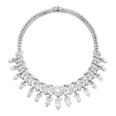 DIAMOND NECKLACE, VAN CLEEF & ARPELS | 鑽石項鏈,梵克雅寶