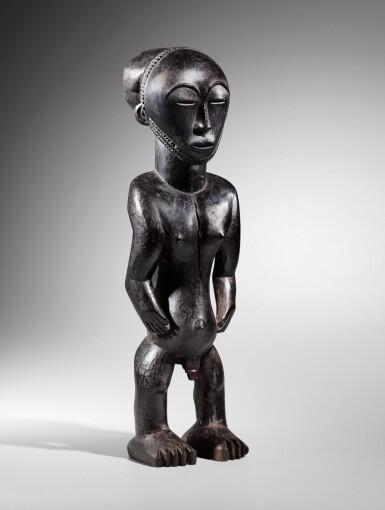 View 1. Thumbnail of Lot 54. Statue, Hemba, République Démocratique du Congo | Hemba figure, Democratic Republic of the Congo.