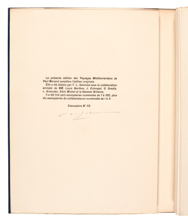 View 2. Thumbnail of Lot 102. Schmied and Morand. Paysages méditerranéens. 1933. 4to. original wrappers.