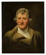 Portrait of David Haliburton of Bushey Grove (1774 - c. 1833), cousin of Walter Scott, bust-length, in a brown coat
