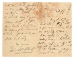 GENERAL ALLENBY | autograph letter signed, on Palestine, 1917