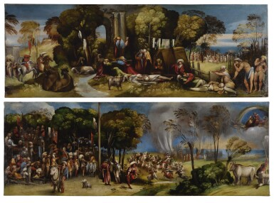 View 1. Thumbnail of Lot 116. The Plague at Pergamea; The Sicilian Games          .