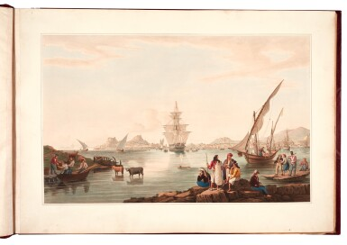 View 4. Thumbnail of Lot 165. Cartwright | Views in the Ionian Islands, 1821.