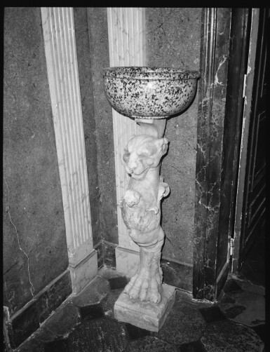 View 6. Thumbnail of Lot 140. Italian, 19th century, After the Antique   Table Leg in the form of a Lion.