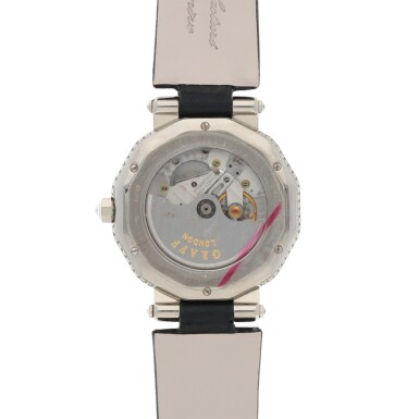 View 4. Thumbnail of Lot 419. REF GXXVI WHITE GOLD AND DIAMOND-SET WRISTWATCH WITH MOTHER-OF-PEARL DIAL CIRCA 2010.