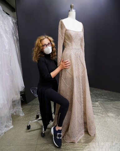 View 2. Thumbnail of Lot 58. A glimpse behind the scenes of the New York Atelier of Reem Acra..