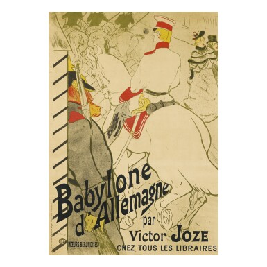 HENRI DE TOULOUSE-LAUTREC   BABYLONE D'ALLEMAGNE (D. 351; ADR. 58; W. P12)