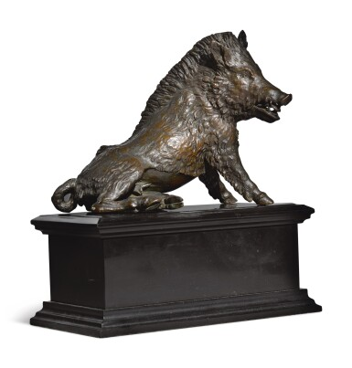 View 1. Thumbnail of Lot 771. Boar, called 'Il Porcelino'.