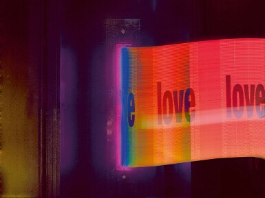 View 1. Thumbnail of Lot 1. CHRIS LEVINE | LIGHT IS LOVE, 2018.