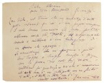 Italian Literature. Collection of autograph letters etc, by Pellico, Manzoni, Duse, Verga, Benelli, and others, C19