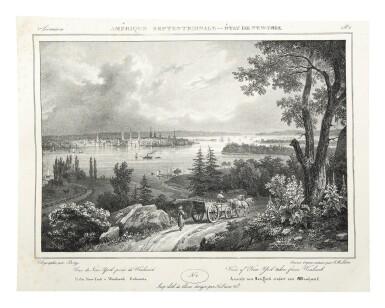 View 5. Thumbnail of Lot 225. Milbert, Jacques-Gérard |  An outstanding series of American views.